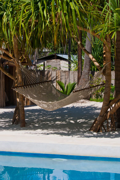 Tropical Beachfront Bungalows for 2 to 6 guests on Zanzibar