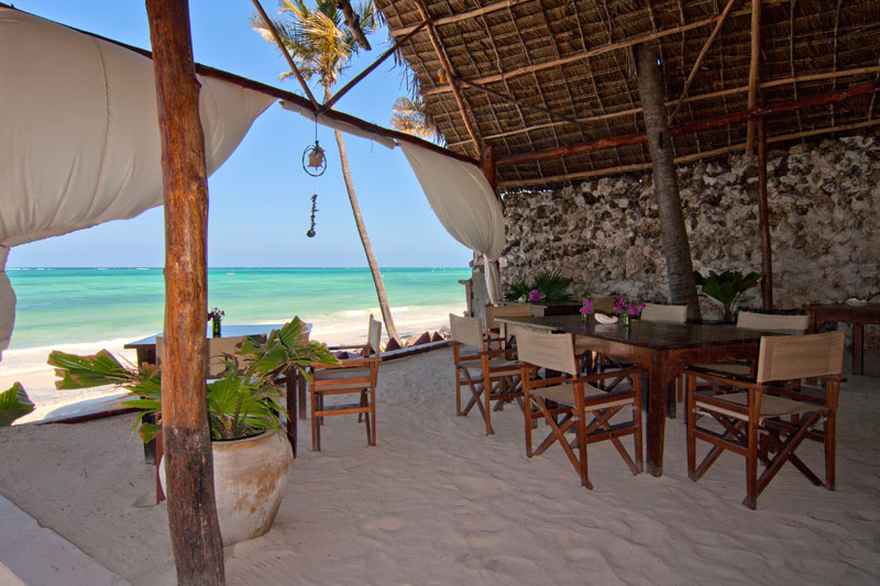Luxurious Beachfront Villa in Zanzibar